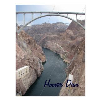 Hoover Dam Bridge Postcard