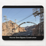 Hoover Dam Bypass Construction Mouse Pad