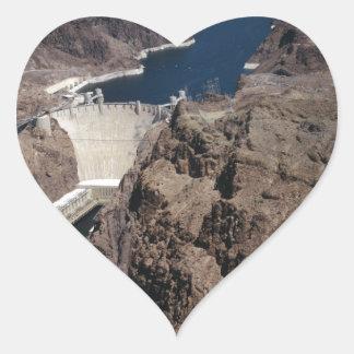 Hoover Dam Heart Sticker