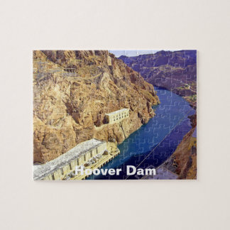 Hoover Dam in Arizona Jigsaw Puzzle