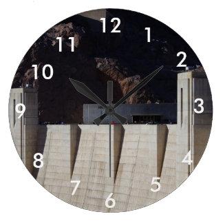 Hoover Dam Large Clock