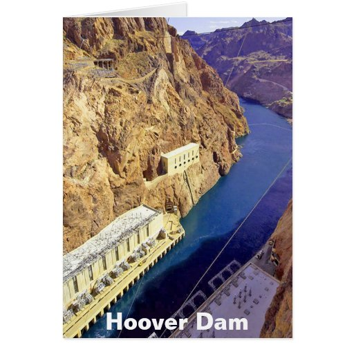 Hoover Dam, Nevada Greeting Cards