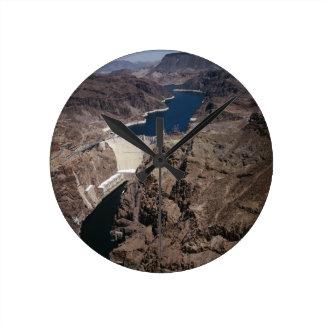 Hoover Dam Round Clock