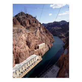 Hoover Dam Spillway, Arizona Postcard