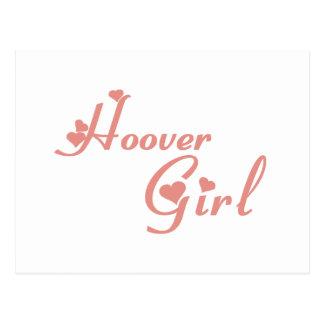 Hoover Girl tee shirts Postcard