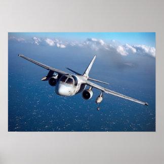 HOOVER S-3 VIKING AIRCRAFT POSTER