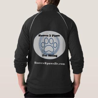 Hooves 2 Paws Logo Track Jacket