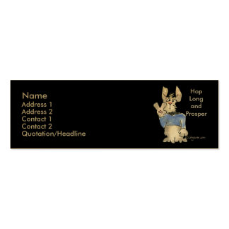 Hop Long and Prosper Business Cards