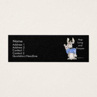 Hop Long and Prosper Mini Business Card
