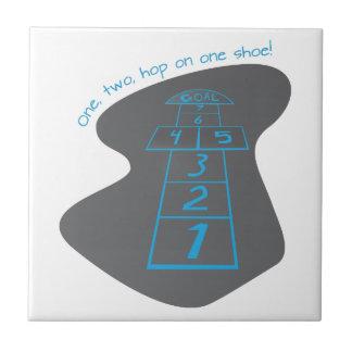 Hop On One Shoe! Tile