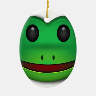 Hop on over to check out this Frog Design Ceramic Oval Decoration
