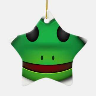 Hop on over to check out this Frog Design Christmas Ornament