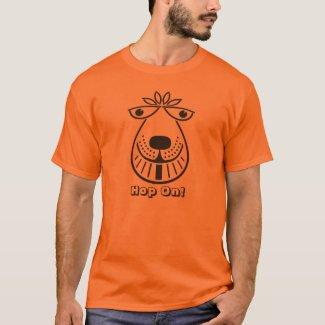 Space Hopper Hop On T-shirt