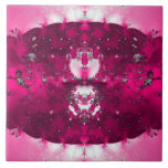 Hop Pink Ceramic Tile