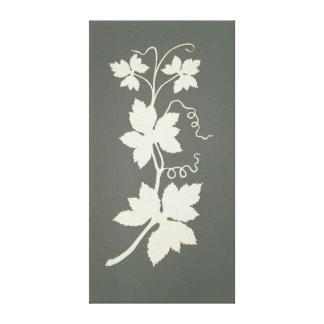 Hop plant canvas print