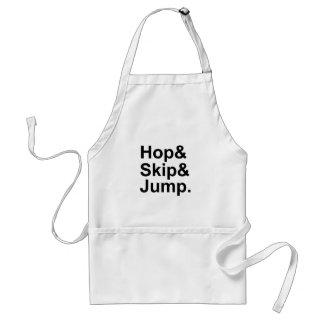Hop Skip Jump | Short Distance Idiom Activity Standard Apron