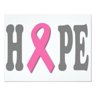 HOPE 11 CM X 14 CM INVITATION CARD