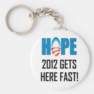 Hope 2012 keychain