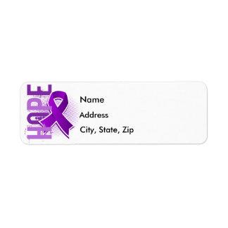 Hope 2 Alzheimer's Disease Return Address Label
