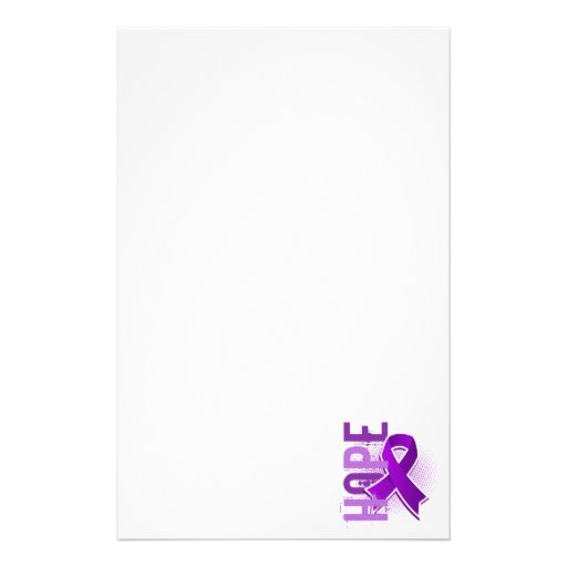 Hope 2 Alzheimer's Disease Personalized Stationery
