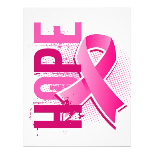 Hope 2 Breast Cancer 21.5 Cm X 28 Cm Flyer