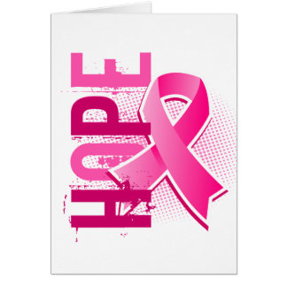 Hope 2 Breast Cancer Greeting Card