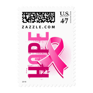 Hope 2 Breast Cancer Postage Stamp