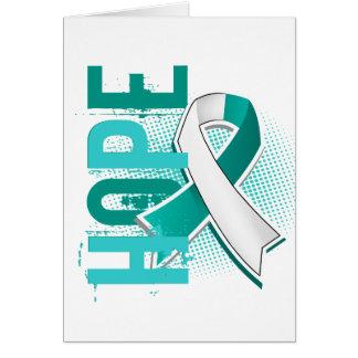 Hope 2 Cervical Cancer Greeting Card