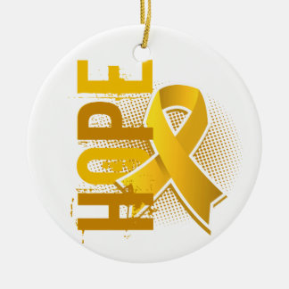 Hope 2 Childhood Cancer Christmas Ornament