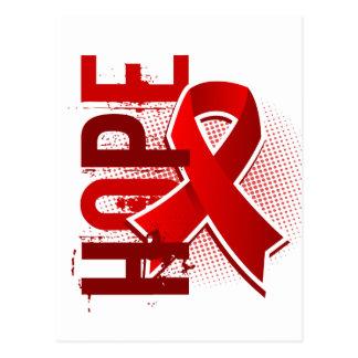 Hope 2 Heart Disease Postcard