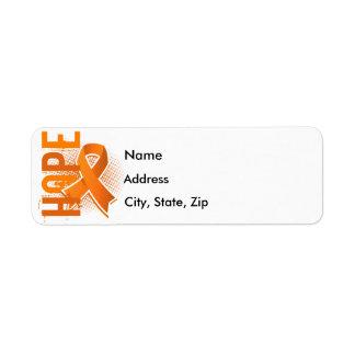 Hope 2 Kidney Cancer Return Address Label