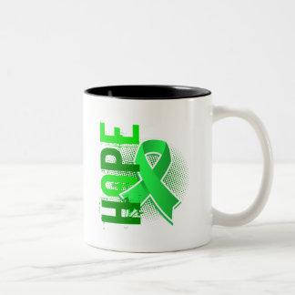 Hope 2 Lyme Disease Two-Tone Mug