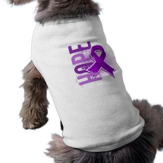 Hope 2 Pancreatic Cancer Dog Clothing