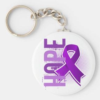Hope 2 Pancreatic Cancer Keychain