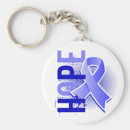 Hope 2 Prostate Cancer Keychain