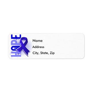 Hope 2 Syringomyelia Return Address Label