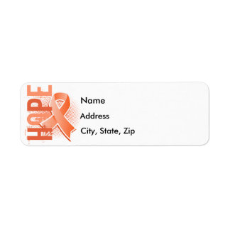 Hope 2 Uterine Cancer Return Address Label