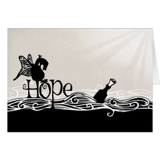 Hope.  A Greeting Card.  With a Qwirk. Card