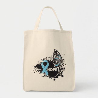 Hope Addison's Disease Butterfly Tote Bags