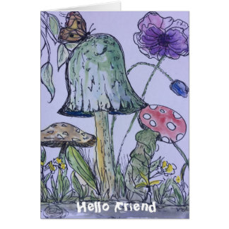 """Hope all is well with you"" greeting card"