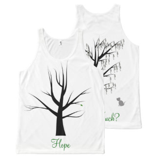 Hope All-Over Print Tank Top