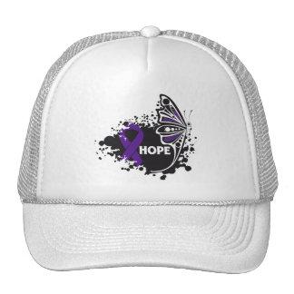 Hope Alzheimer's Disease Butterfly Mesh Hat