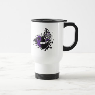 Hope Alzheimer's Disease Butterfly Coffee Mug