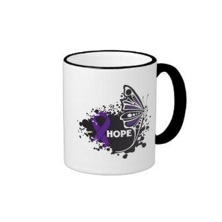 Hope Alzheimer's Disease Butterfly Mug