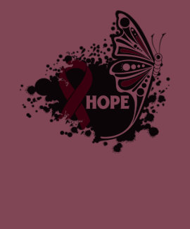 Hope Amyloidosis Butterfly Tee Shirts