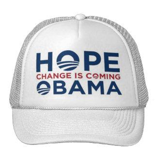 HOPE and CHANGE Hats