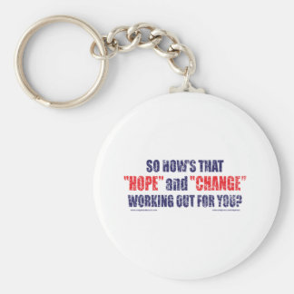 HOPE-and-Change-DST-TEE Basic Round Button Key Ring