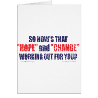 HOPE-and-Change-DST-TEE Greeting Card