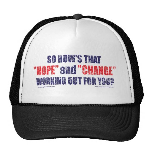 HOPE-and-Change-DST-TEE Trucker Hat