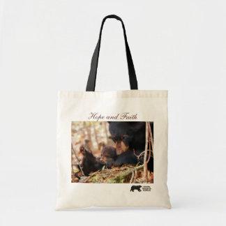 Hope and Faith Tote Bags